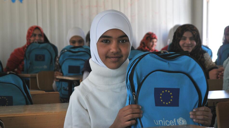 Syrien, Bildung, UNICEF