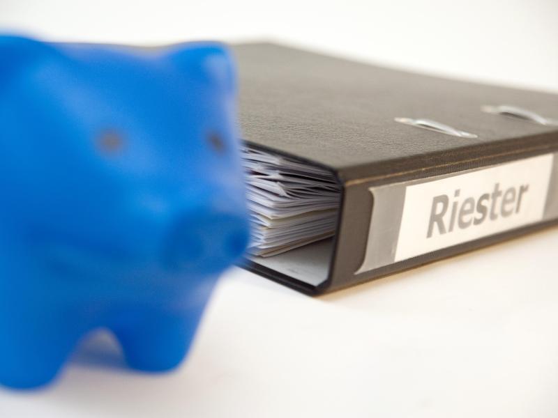 Bild zu Riester-Banksparpläne
