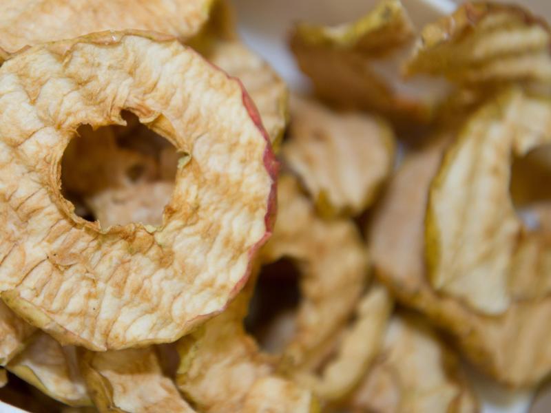 Bild zu Apfelchips