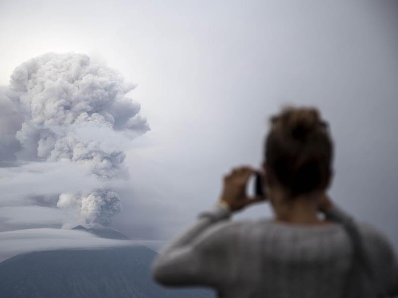 Bild zu Vulkan Mount Agung auf Bali