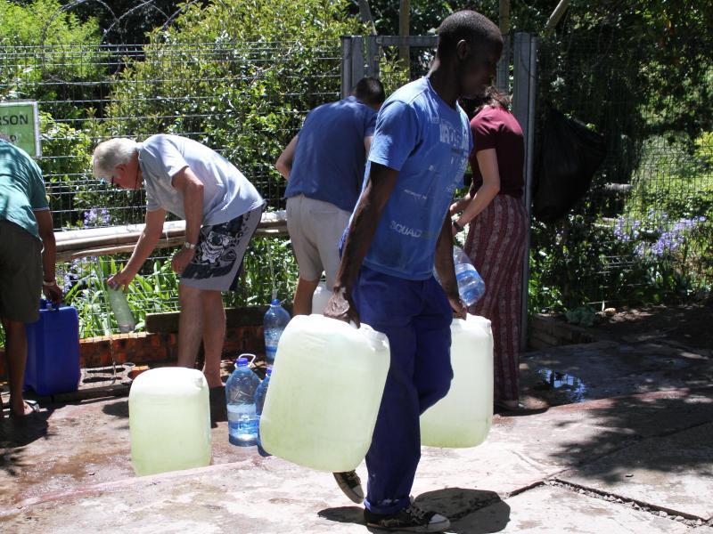 Bild zu Trinkwassersknappheit in Kapstadt