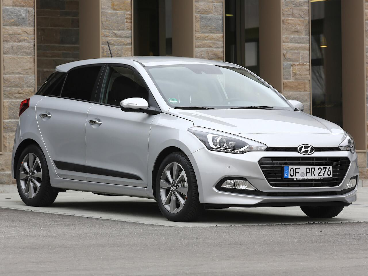 Bild zu Platz 3: Hyundai i20