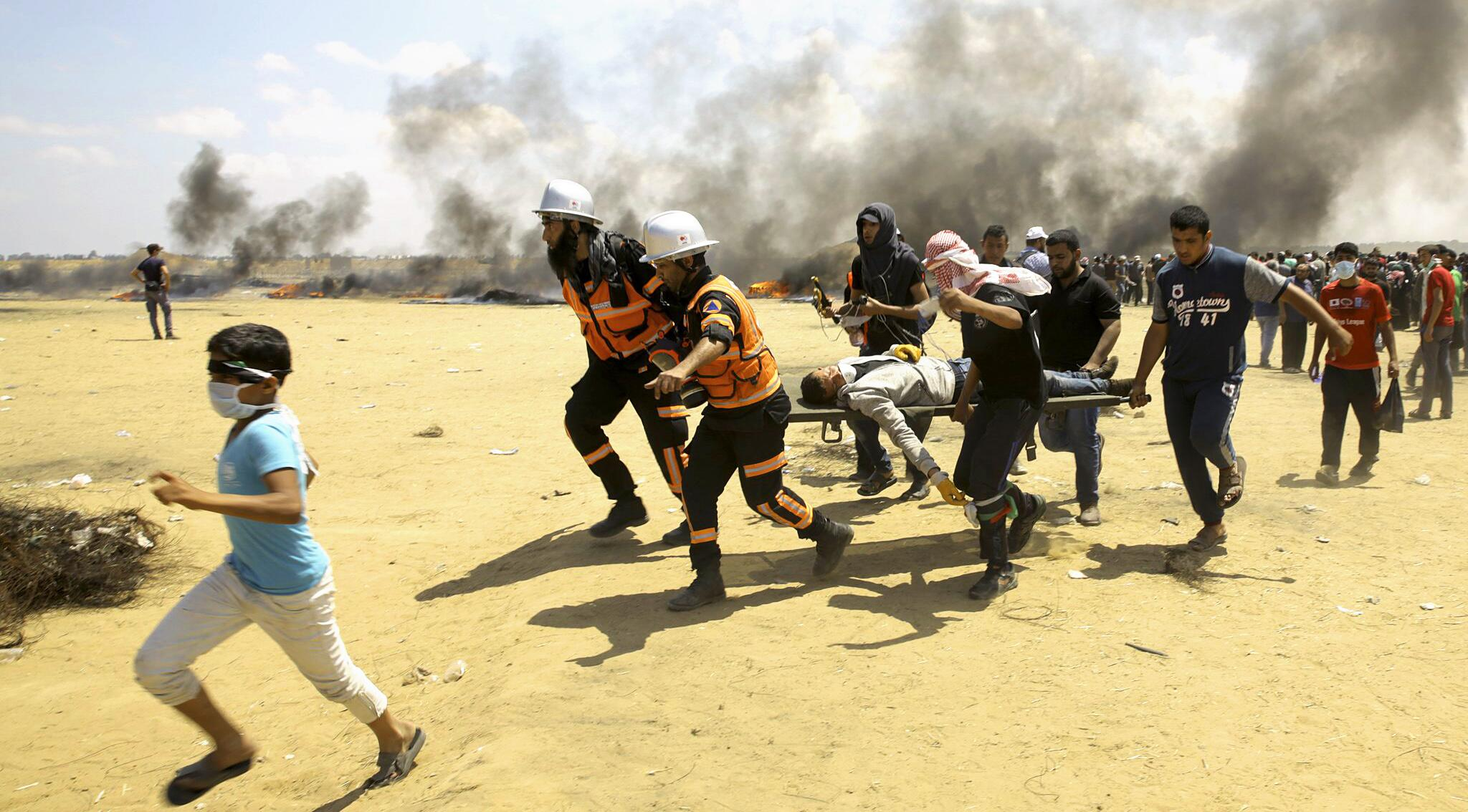Bild zu Proteste in Gaza