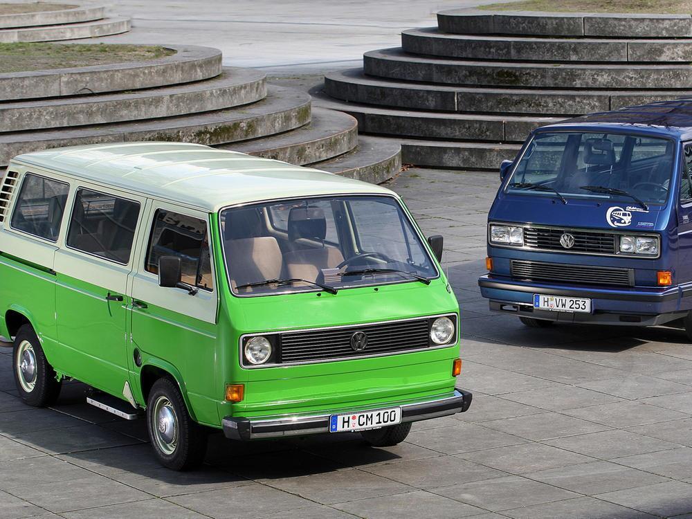 Bild zu Platz 1: VW T3