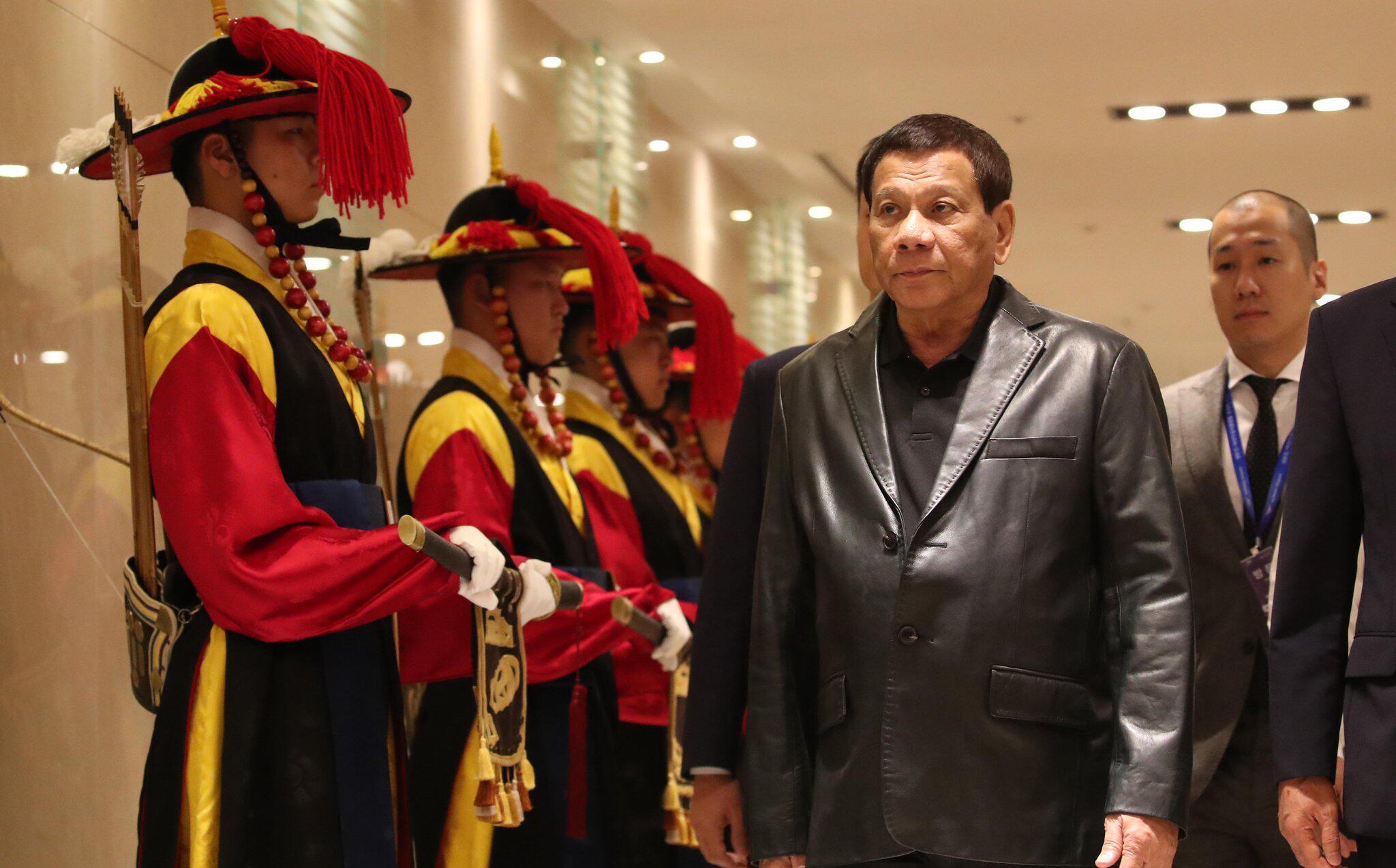 Bild zu Philippinischer Präsident in Südkorea