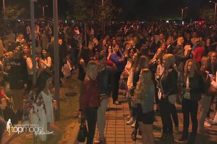 Schock: Finalabbruch und Evakuierung