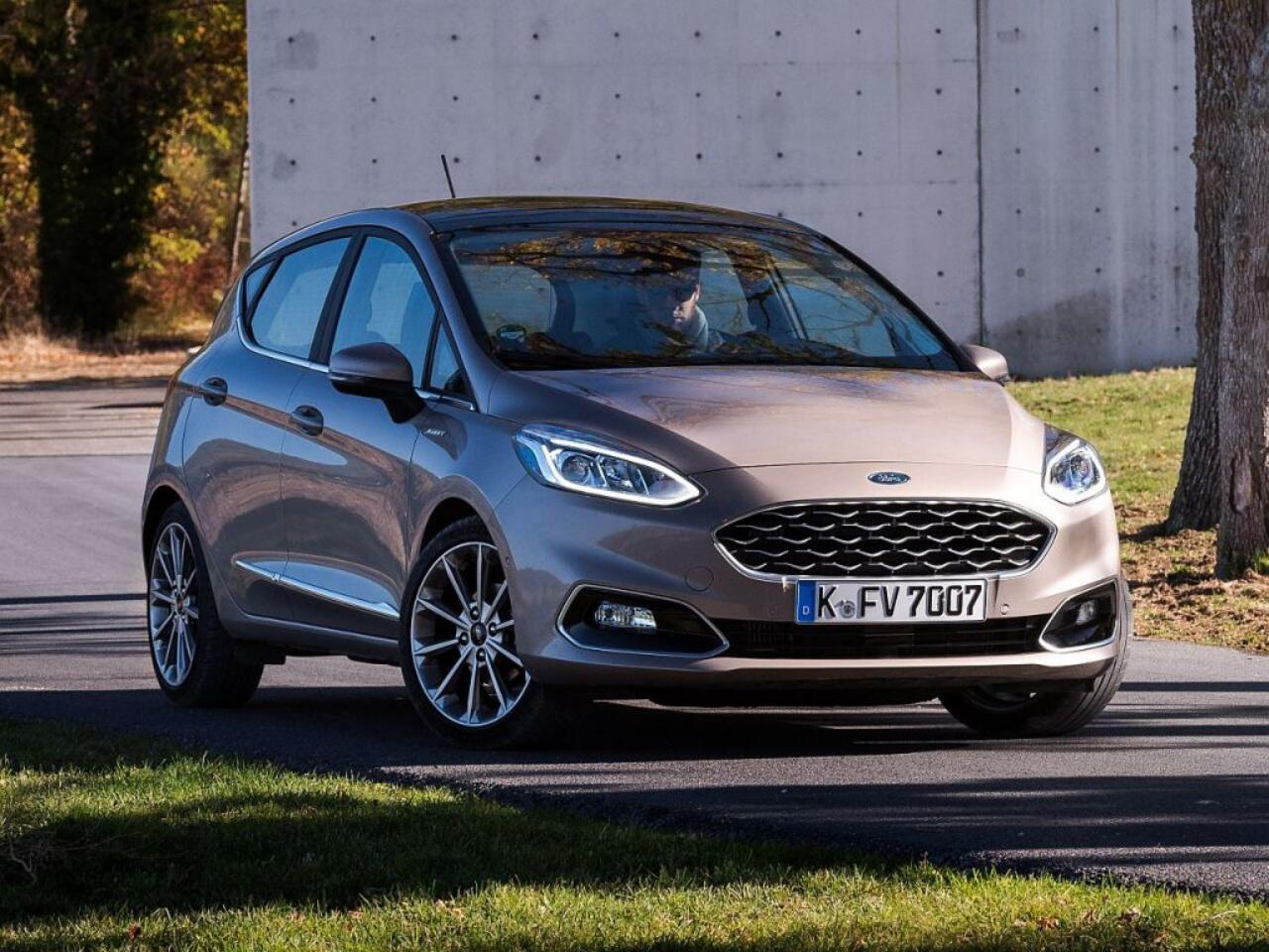 Bild zu Platz 12: Ford Fiesta