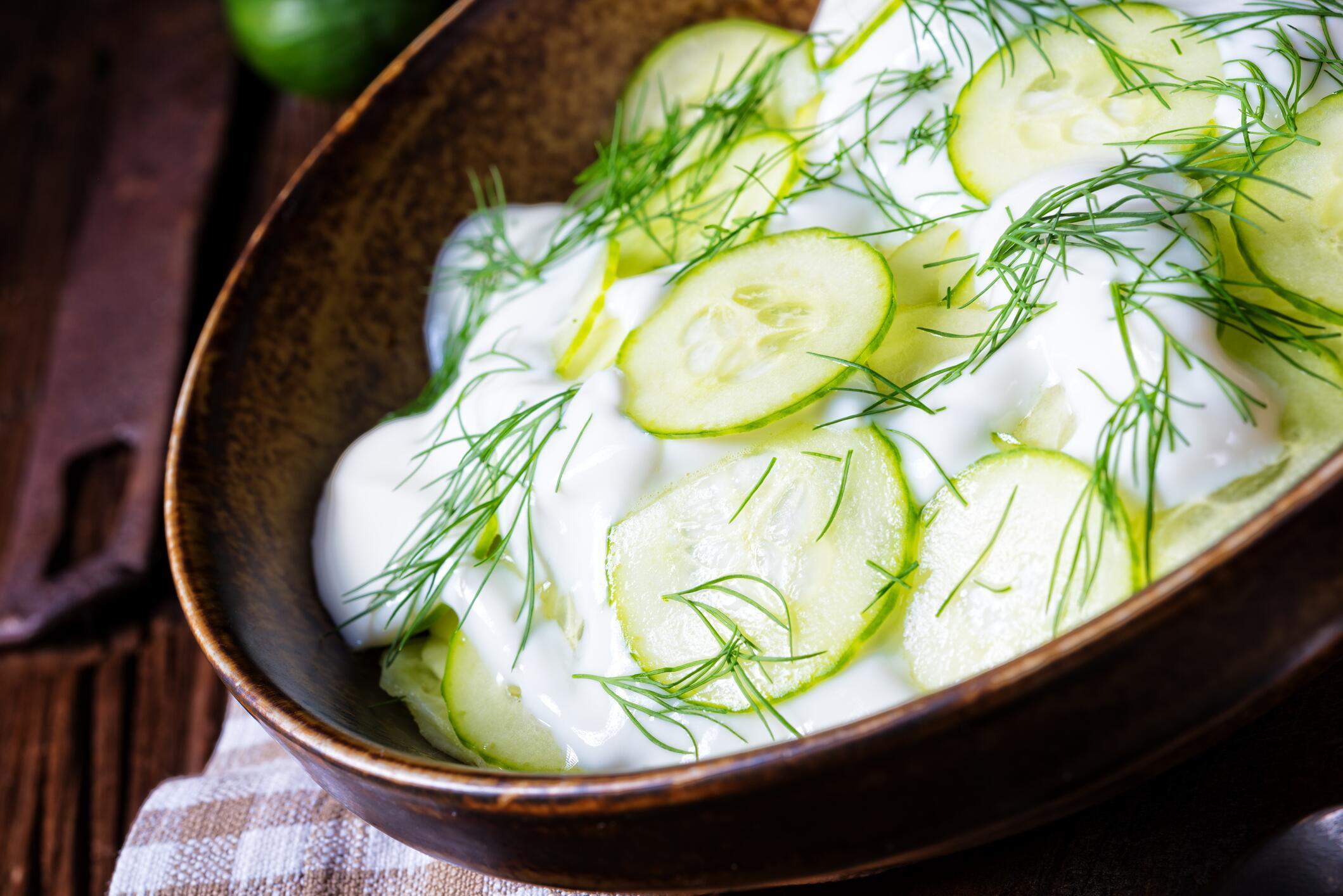 Bild zu Gurken-Kartoffelsalat