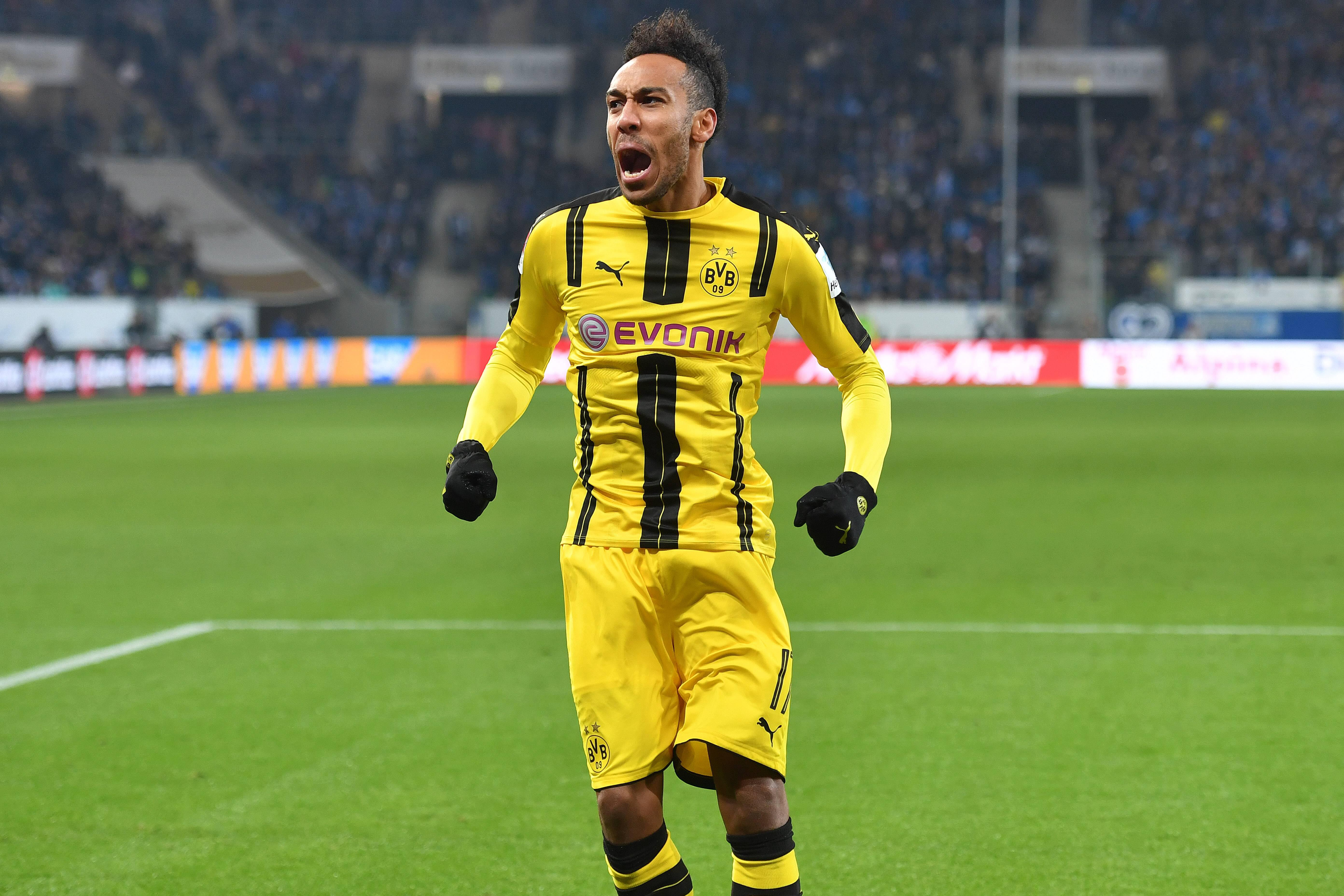 Bild zu Aubameyang, BVB, Borussia Dortmund, Afrika Cup