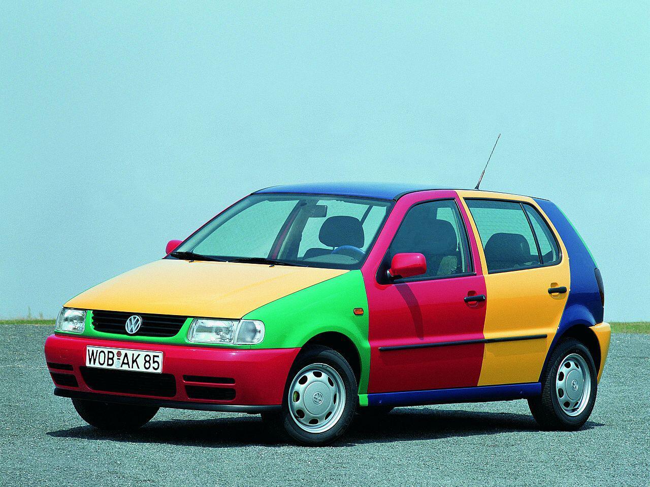 Bild zu VW Polo Harlekin