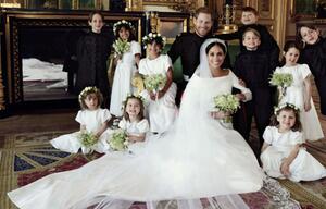 Herzogin Meghan: Ist ihr Brautkleid ein Imitat gewesen?