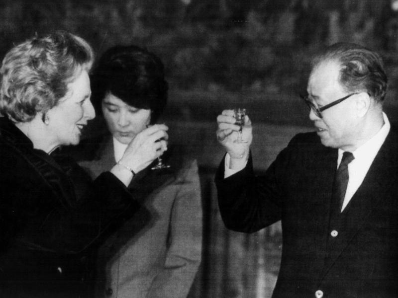 Bild zu Thatcher und Ziyang