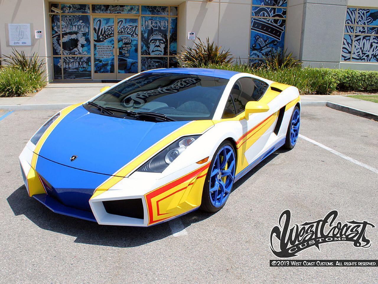 Bild zu Lamborghini Gallardo von Chris Brown