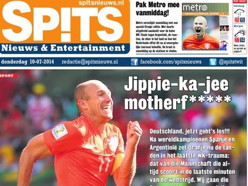 Bild zu Arjen Robben, WM 2014