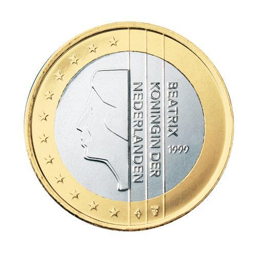 Bild zu 1-Euro-Münze aus den Niederlanden