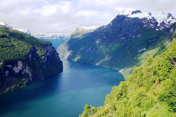 Bild zu Geirangerfjord