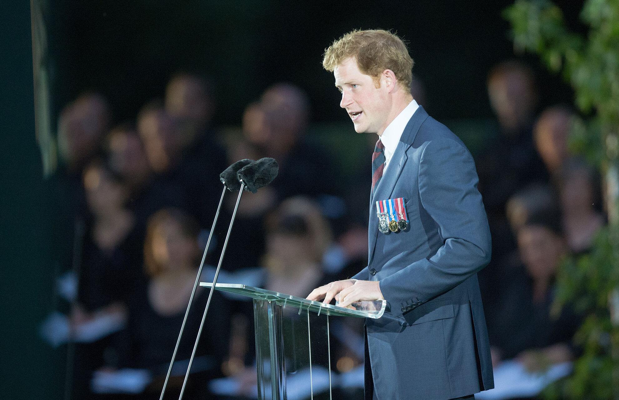 Bild zu Harry hält eine Rede