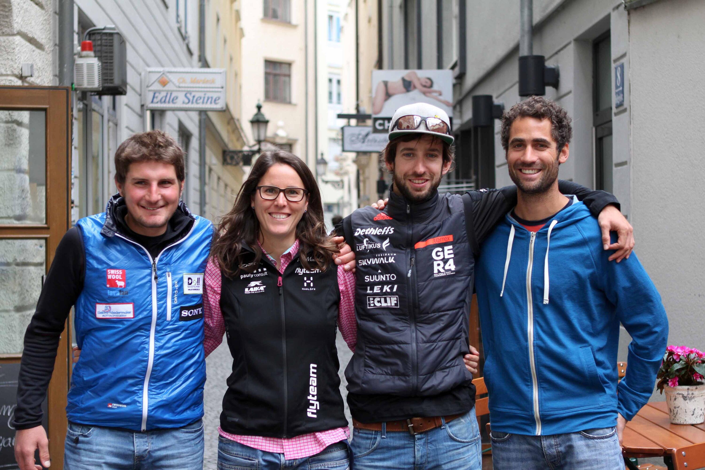Bild zu Sebastian Huber, Yvonne Dathe, Manuel Nübel, Michael Gebert