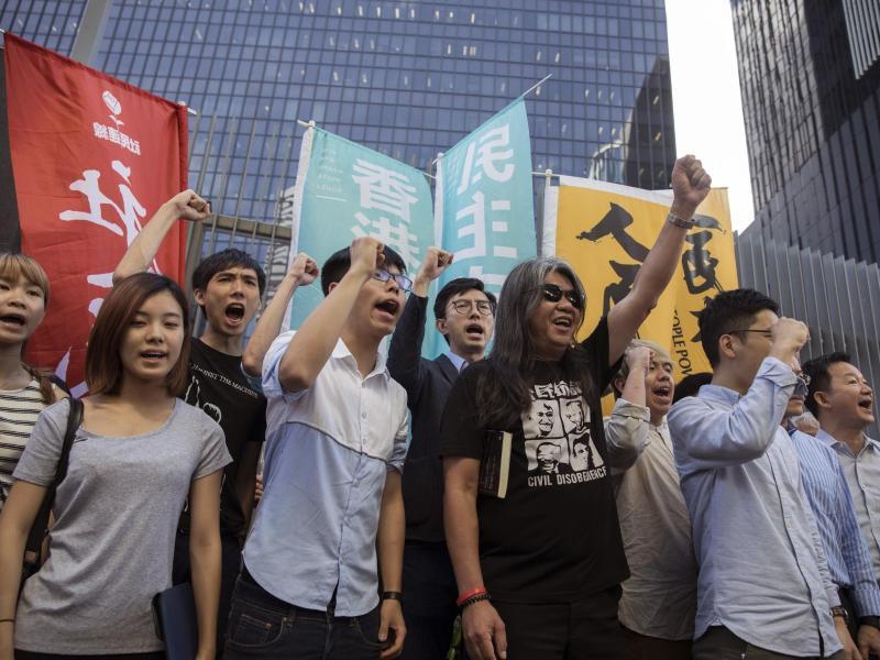 Bild zu Hongkonger Aktivisten