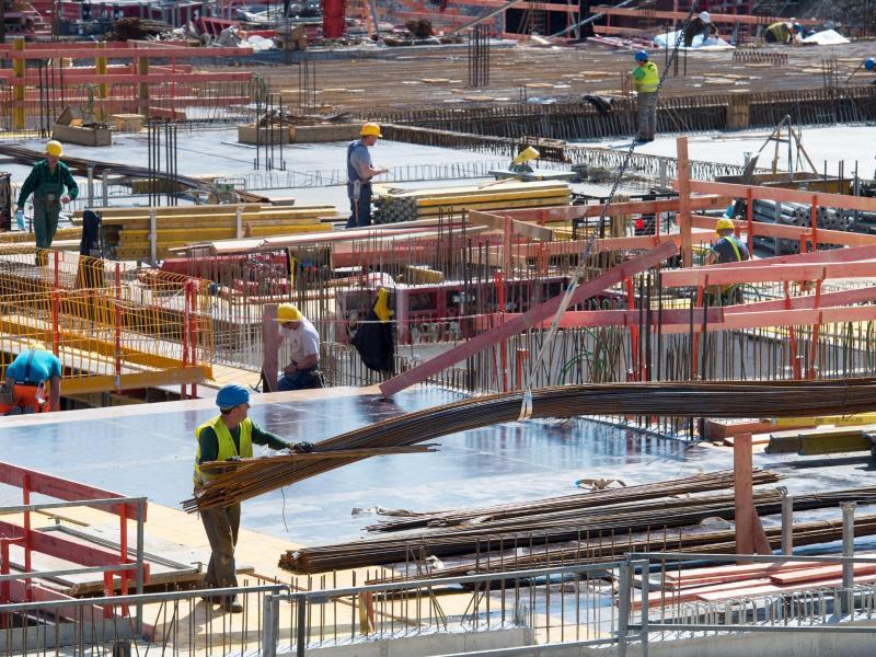 Bild zu Baustelle in München