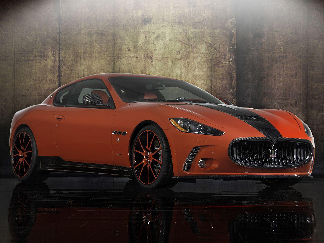 Bild zu Aerodynamik-Paket für den Maserati GranTurismo: Der sieht nicht nur scharf aus