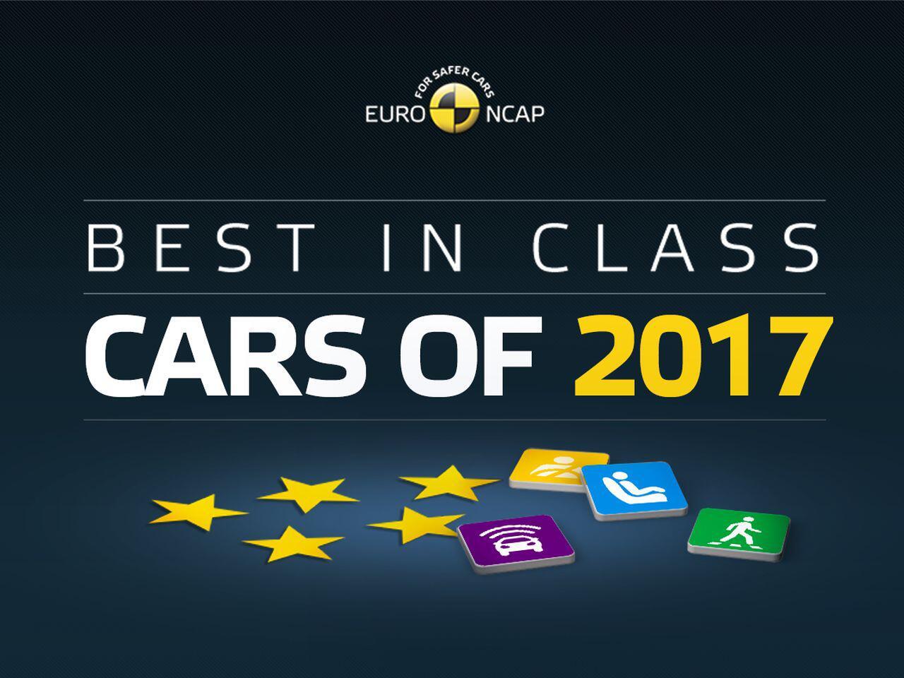 """Bild zu Euro NCAP """"Best in Class"""""""