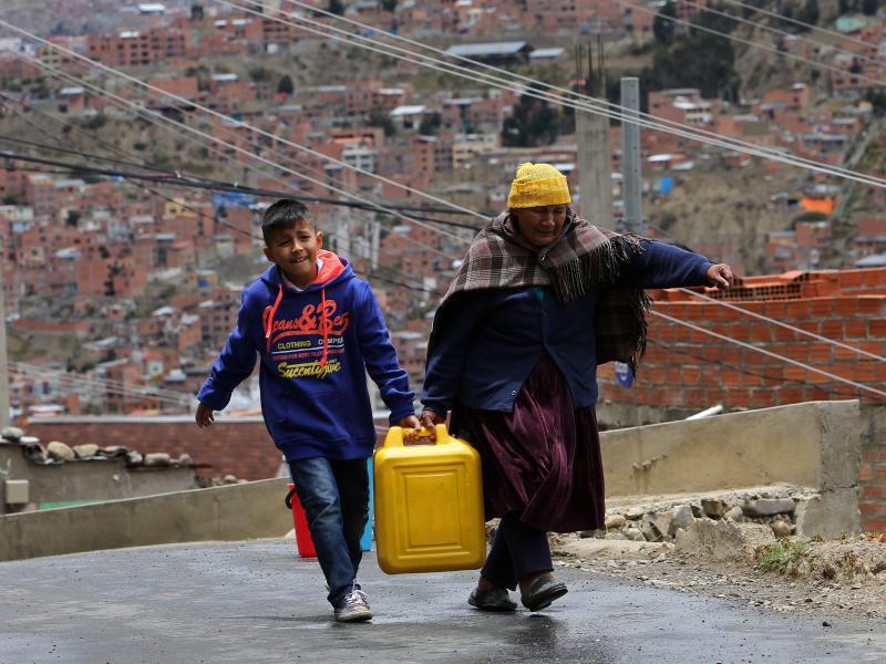 Bild zu Wassermangel