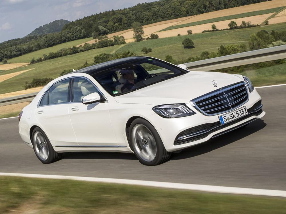 Bild zu Platz 1 Oberklasse: Mercedes-Benz S-Klasse