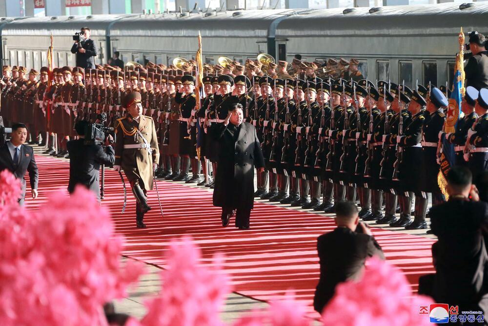 Kim Jong Un reist mit Zug zum Gipfel mit Trump