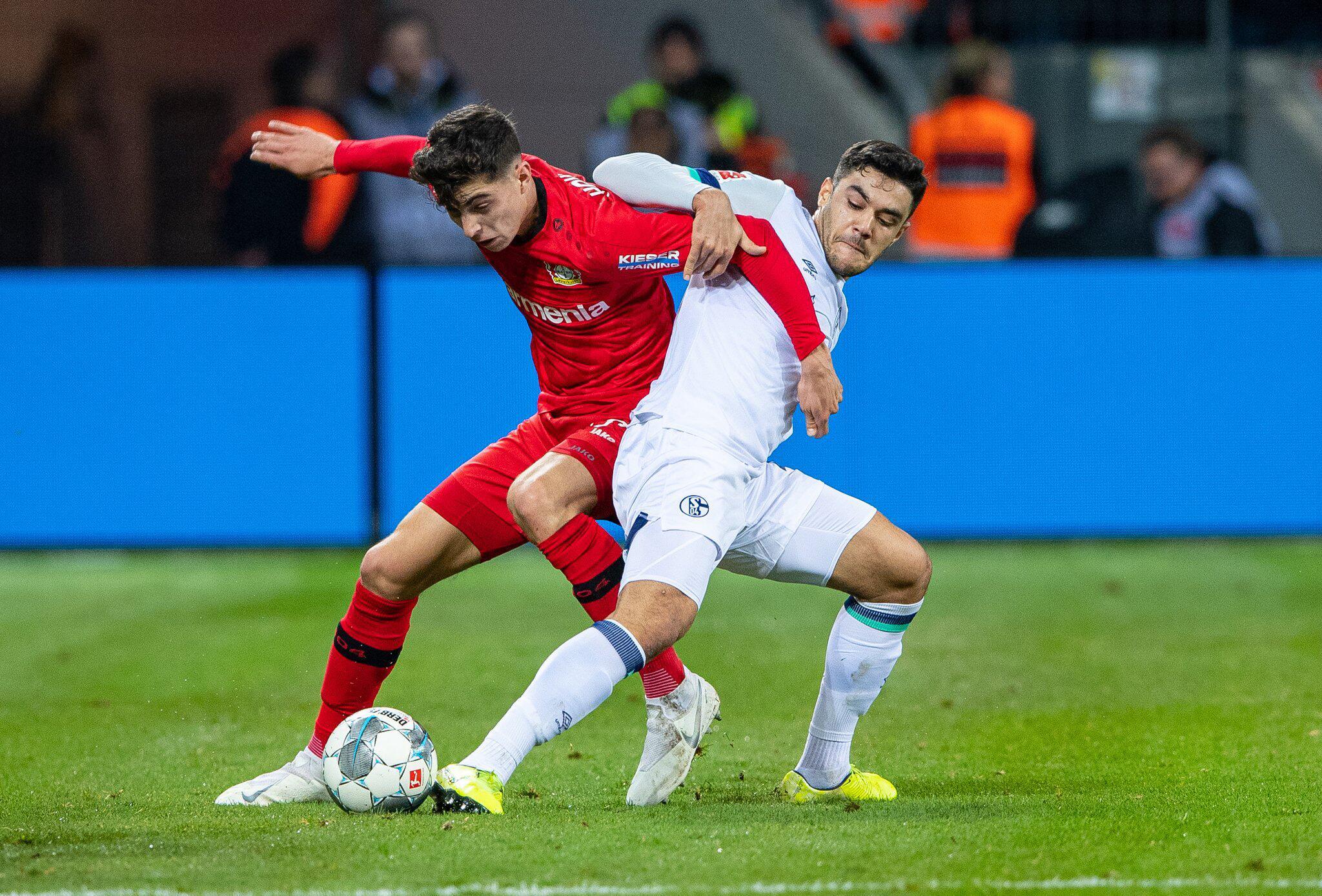 Bild zu Bayer Leverkusen - FC Schalke 04