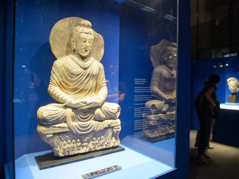 Bild zu Buddha-Ausstellung