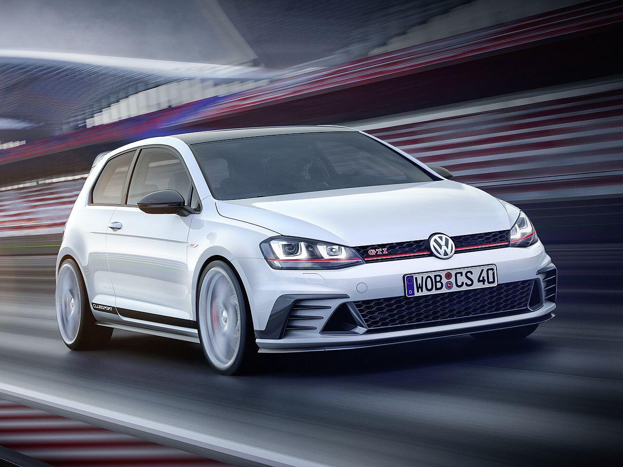 Bild zu VW Golf GTI Clubsport Studie