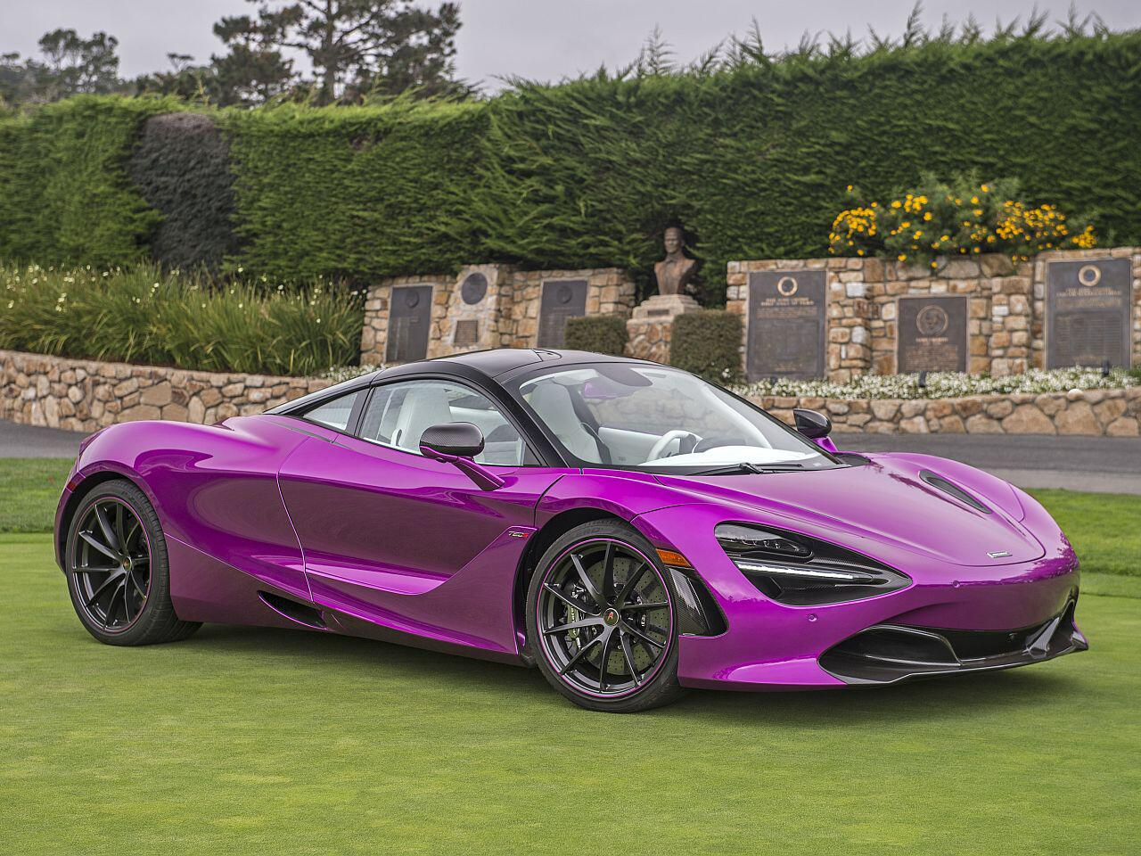 Bild zu McLaren 720S Fux Fuchsia