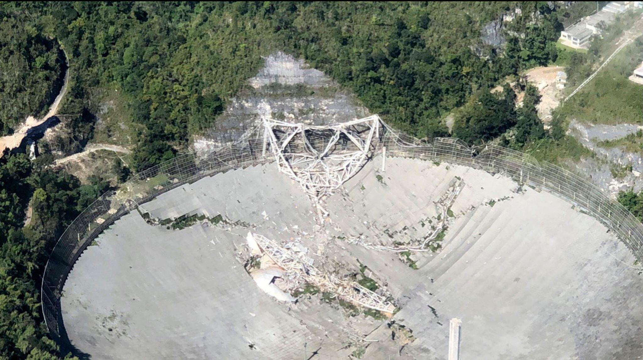 Riesiges Radioteleskop kollabiert in Puerto Rico | Wissenschaft