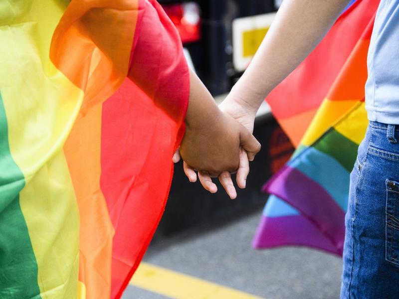 Bild zu Homosexuelles Paar