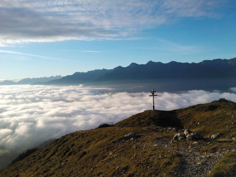 Bild zu Gutes Wetter über den Wolken