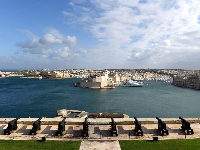 Bild zu Blick auf Valetta, Malta