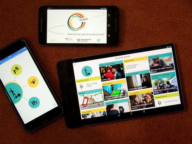Bild zu Ankomm-App als Website