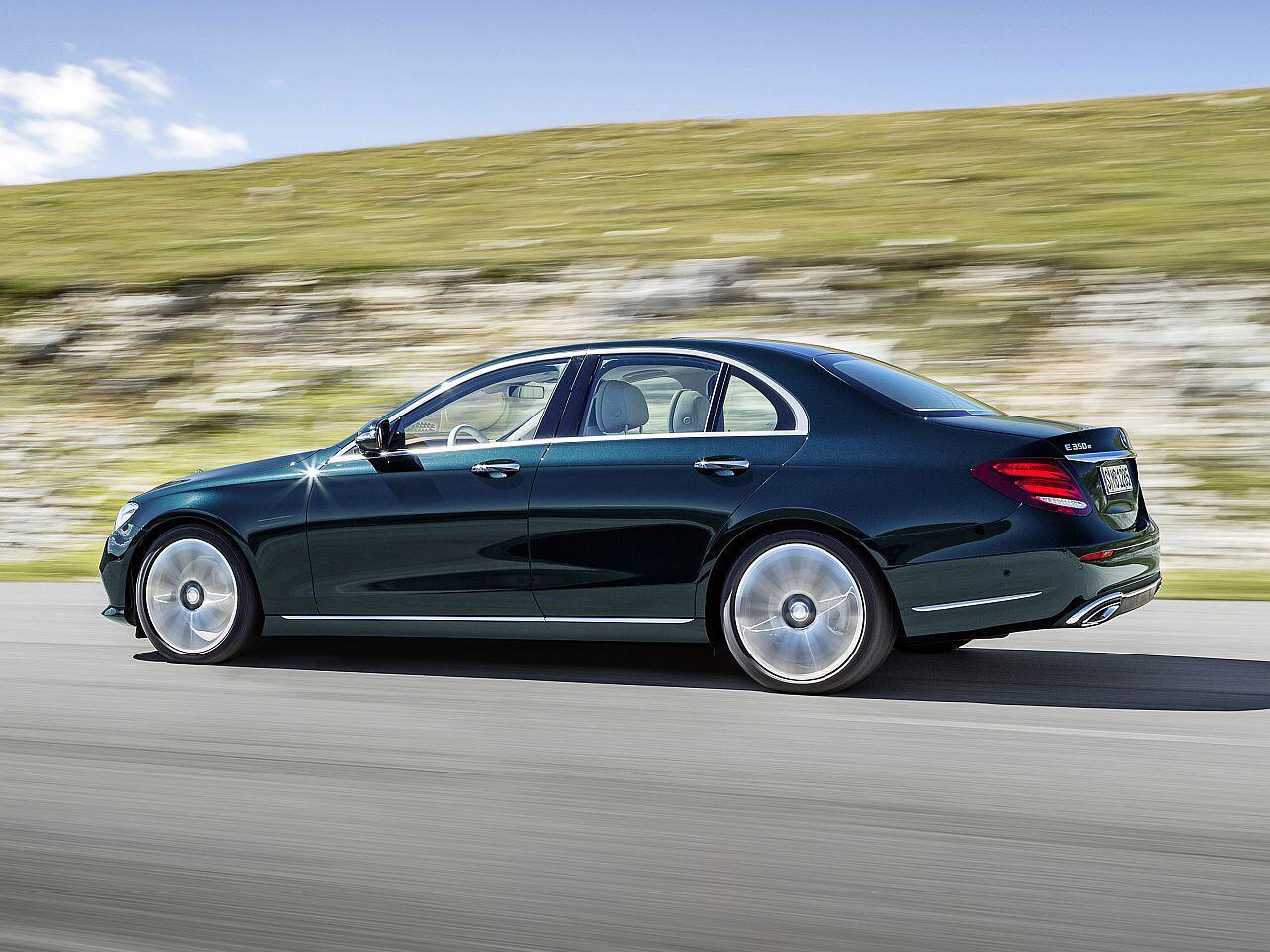Bild zu Platz 1: Mercedes-Benz E-Klasse