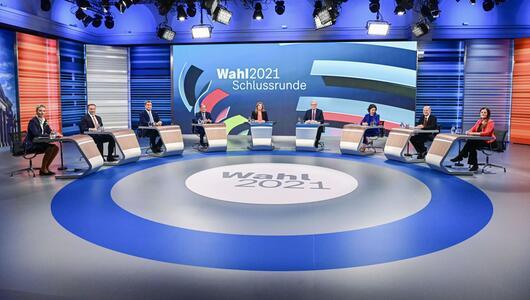 Wahl 2021 Schlussrunde