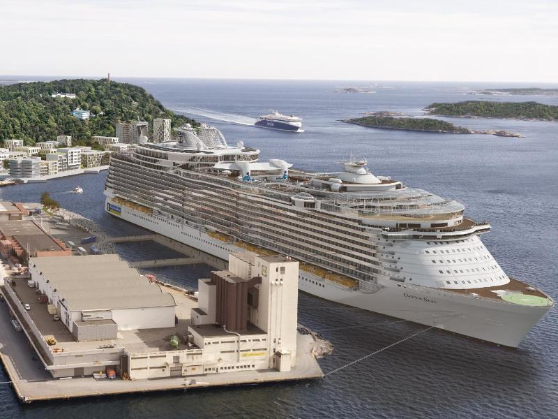 Bild zu Hafen von Kristiansand