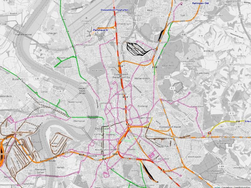 Bild zu Open Railway Map