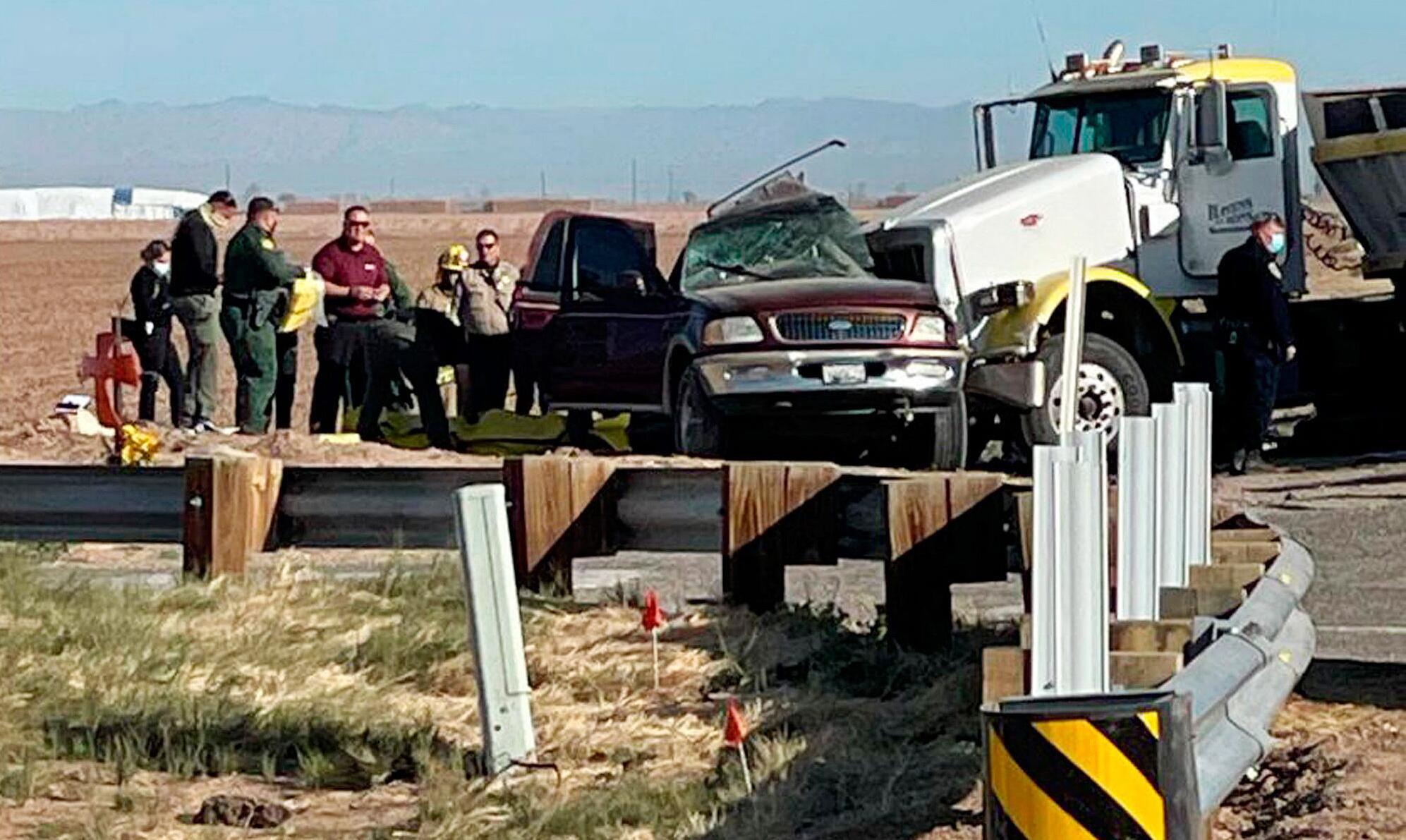 Bild zu Mehrere Tote bei schwerem Autounfall im Süden Kaliforniens
