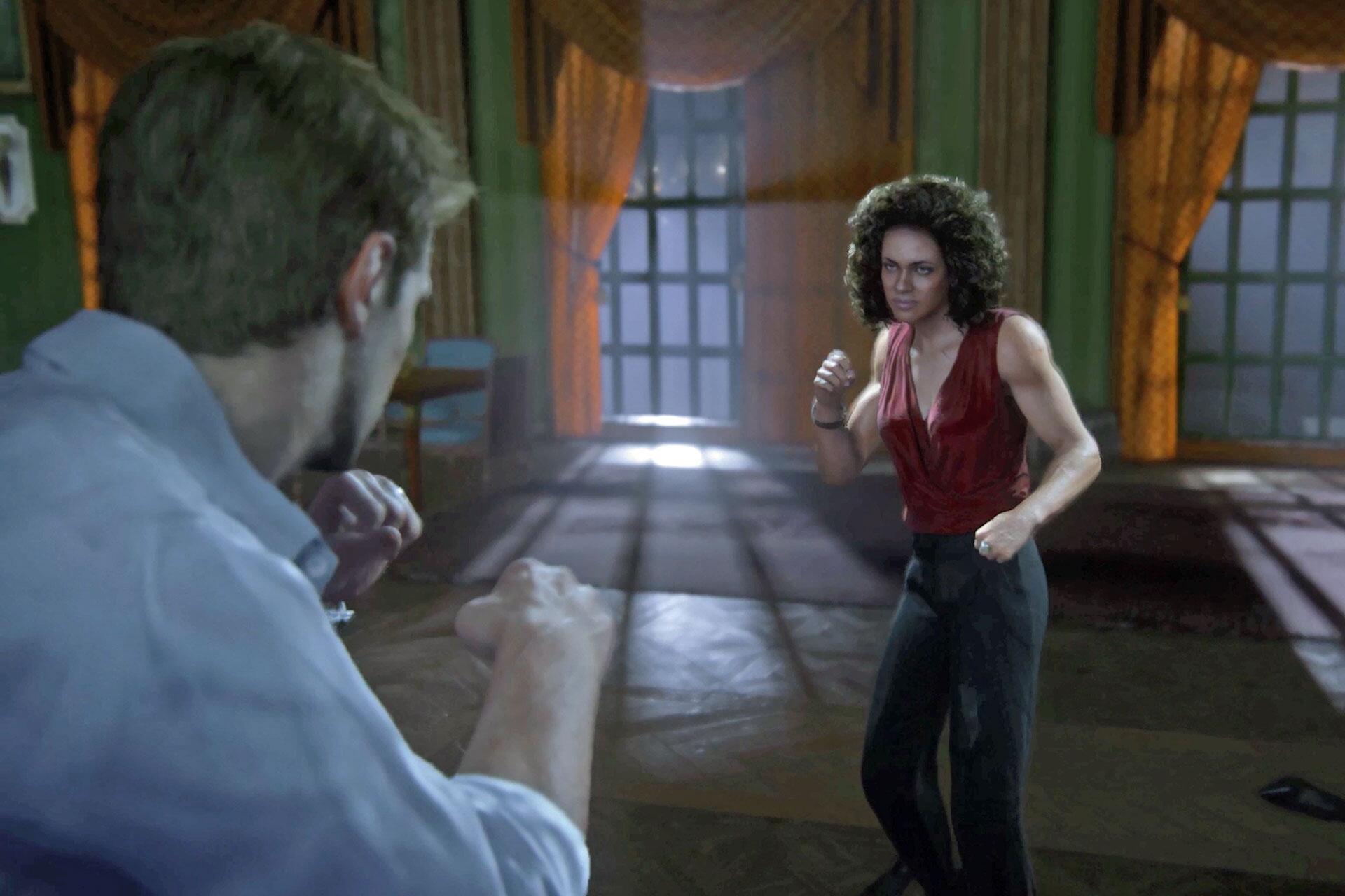 Bild zu Uncharted 4, Nathan Drake, Nadine Ross