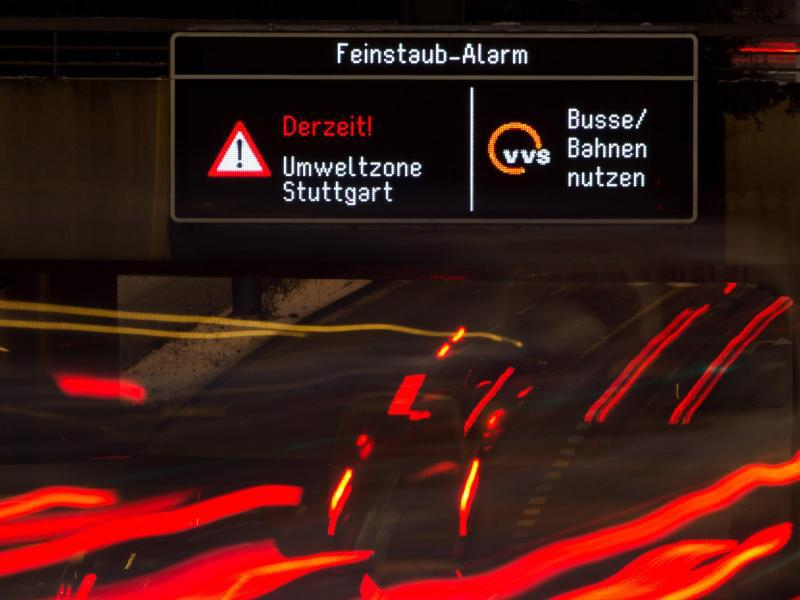 "Bild zu Smog-Alarmstufe ""Rot"""