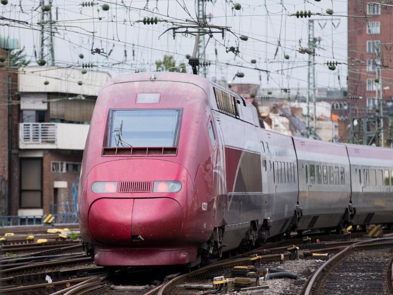 Bild zu Bahnstreik in Belgien