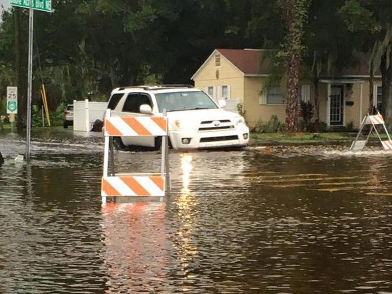 Bild zu Überschwemmung