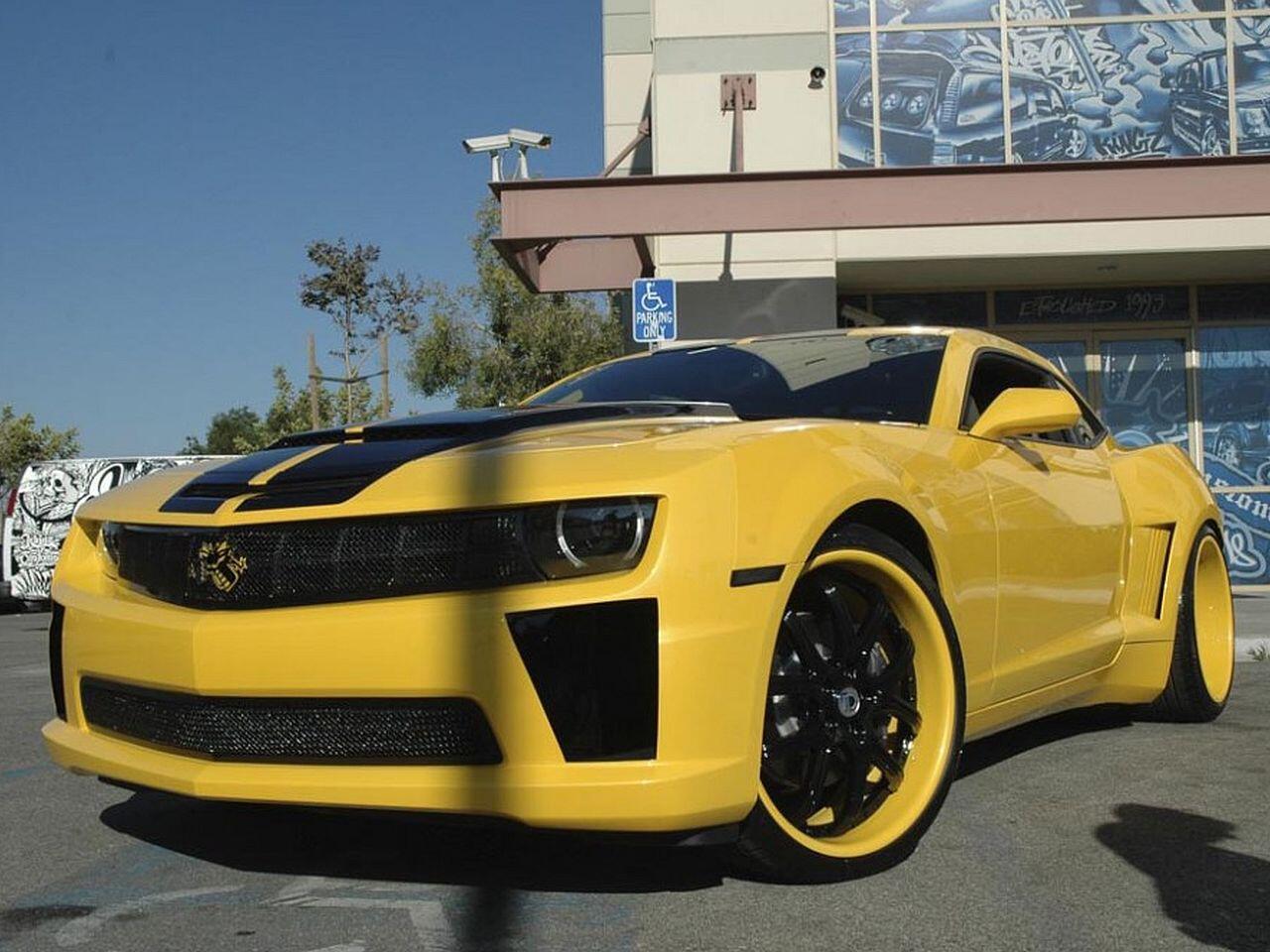 Bild zu Yellow Camaro von Anderson Silva