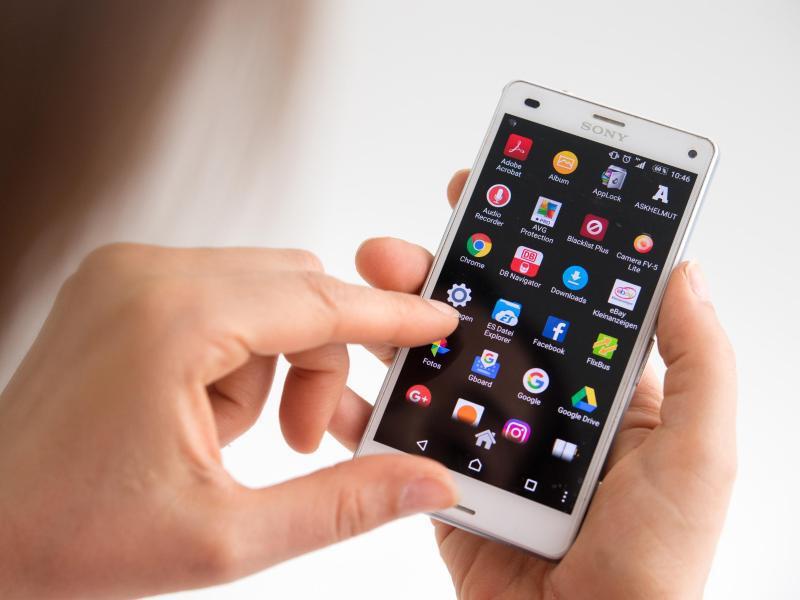 Bild zu Apps auf einem Android-Handy