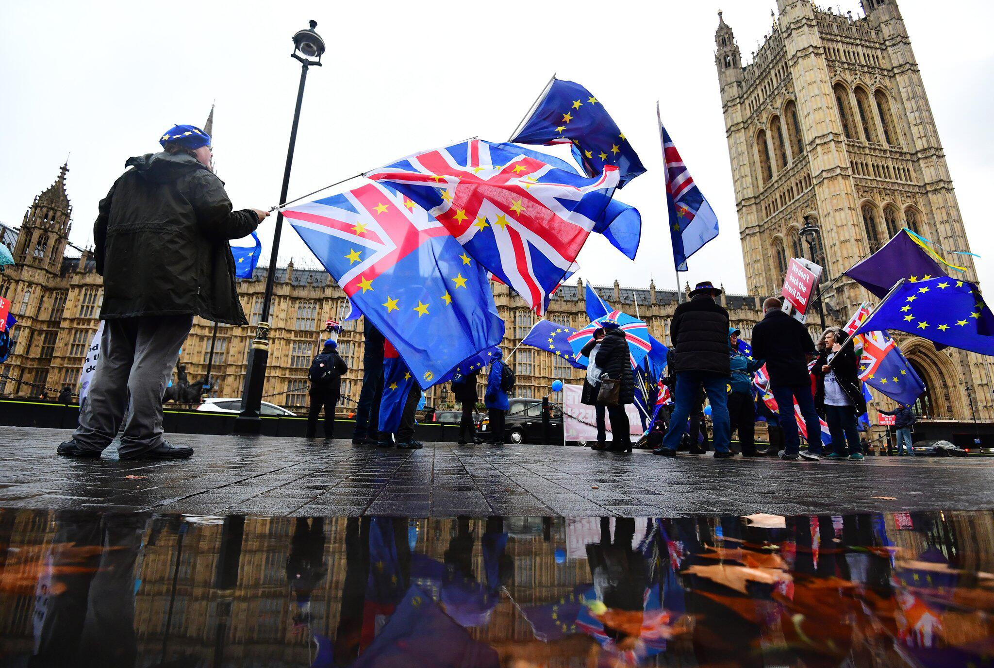 Bild zu Anti-Brexit-Protest in London